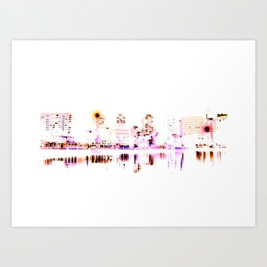 white harbor VI. Art Print