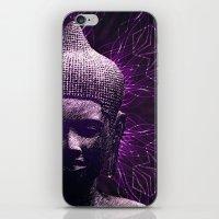 meditation iPhone & iPod Skins featuring Meditation by JG-DESIGN