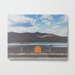 Life Ring On Fontana Damn • Appalachian Trail Metal Print