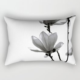BLACK MAGNOLIA Rectangular Pillow