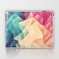 Geometry Triangle Wave Multicolor Mosaic Pattern - (HDR - Low Poly Art) - FULL Laptop & iPad Skin