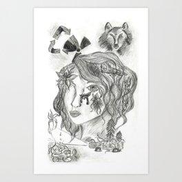 Radioactive Art Print