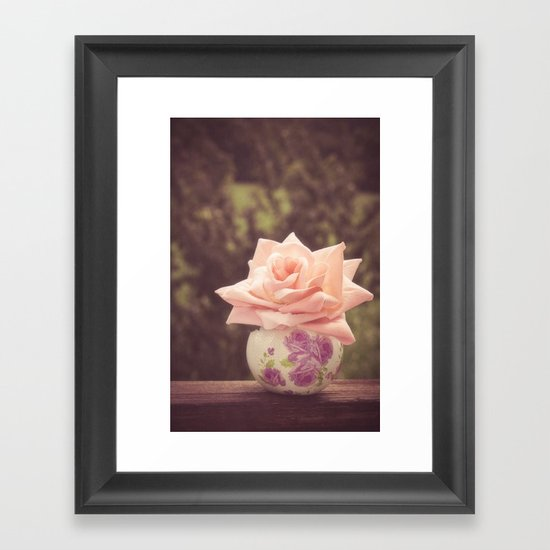 ROMANTIC STILL Framed Art Print