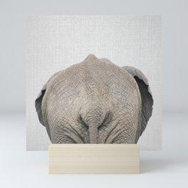Elephant Tail - Colorful Mini Art Print