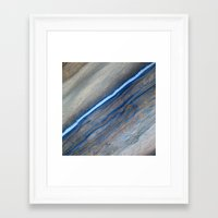 marble Framed Art Prints featuring Marble by Santo Sagese