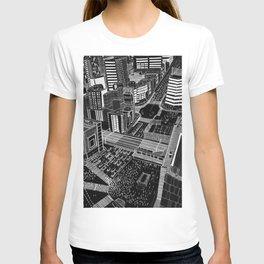 Shibuya in BW T-shirt