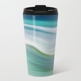 OCEAN ABSTRACT Travel Mug