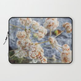 Pink and Peach Flowers Laptop Sleeve