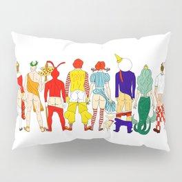 Fast Food Butts V2 Pillow Sham
