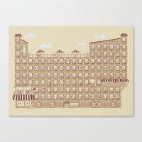the neighbourhood Canvas Prints featuring Periodic Neighbourhood by Salih Gonenli