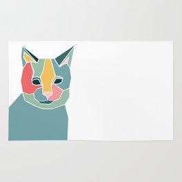 Graphic Cat Rug