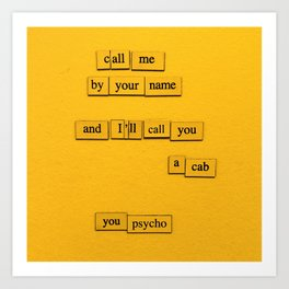Call You A Cab Art Print