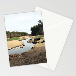 Golf Creek Winding Stationery Cards