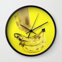 Grab a banana Wall Clock
