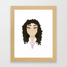 Gabi Framed Art Print
