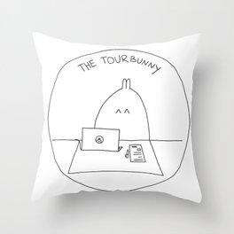 The TourBunny Circle Throw Pillow