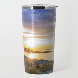 Autumn Sunset at Andrews Point Travel Mug