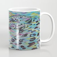 camo Mugs featuring Camo by Caballos of Colour