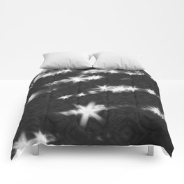 reflections pattern Comforters