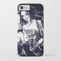 modern vampires of art history iPhone & iPod Cases featuring Vampires by Streetlight by Michael Duggan