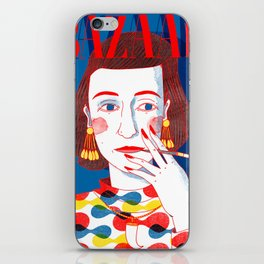 Diana Vreeland iPhone Skin