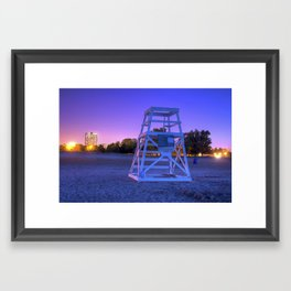 Lifeguards Framed Art Print