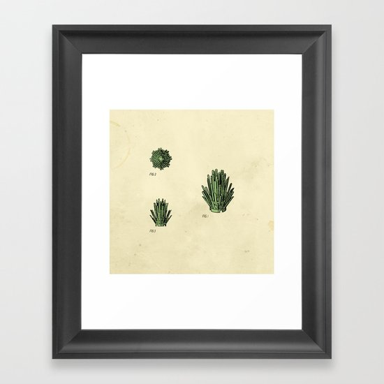 Lego Bush Framed Art Print