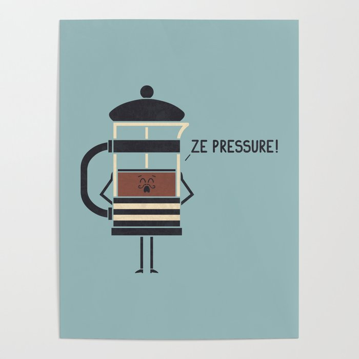 French Press Poster