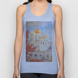 The Nativity of the Blessed Virgin Cathedral in the Conception Convent Unisex Tank Top