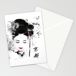Kyoto Geisha Stationery Cards