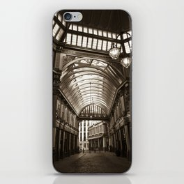 Leadenhall Market London iPhone Skin