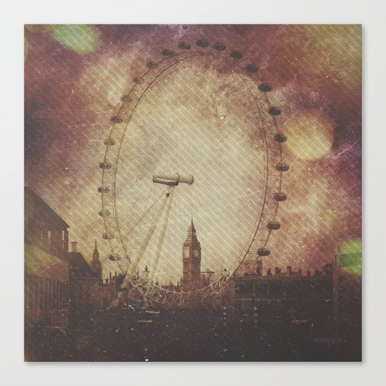 Big Ben in the Eye of London Canvas Print