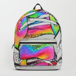 Walk a Mile in my Chucks Backpack