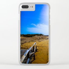 Rota Spain Beach 12 Clear iPhone Case