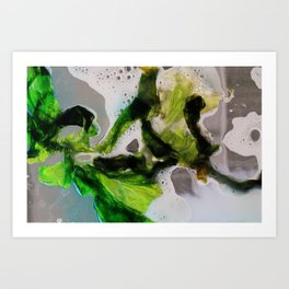 Undersea Art Print