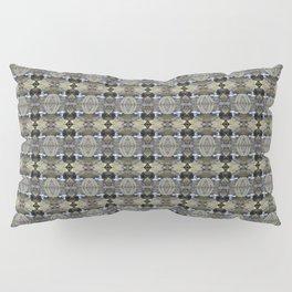 Peekamoose Waterfall Rocks Pattern Pillow Sham