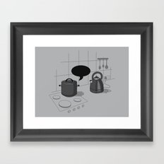 What did you call me?! Framed Art Print