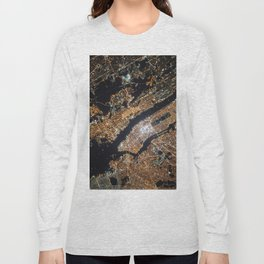 New York From Above Long Sleeve T-shirt