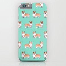 Pembroke Welsh Corgi dog iPhone 6 Slim Case