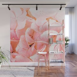 Blushing #photography #floral Wall Mural