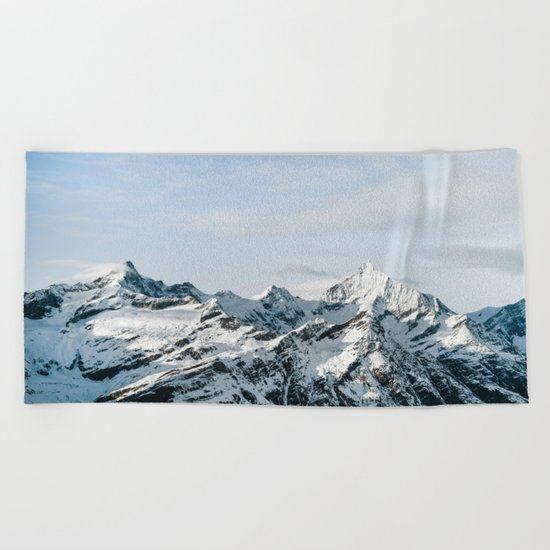 Mountain #landscape photography Beach Towel
