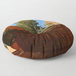 A New Mexico Entrance Floor Pillow