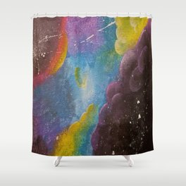 Past Existence Shower Curtain