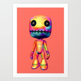 Voodoo Doll Art Print