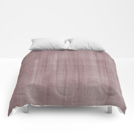 Pantone Red Pear Dry Brush Strokes Texture Pattern Comforters