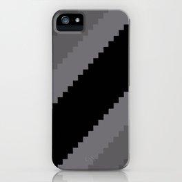 Pixel Old Hollywood Dremas - Monochrome Grey iPhone Case