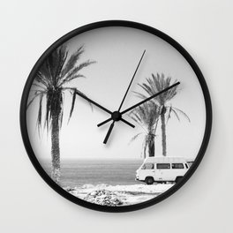 ROAD TRIP VI Wall Clock