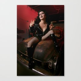 A little bit Bettie  Canvas Print