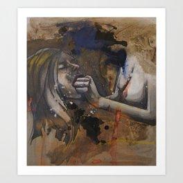 Spit/Swallow Art Print