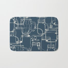 glass containers Bath Mat